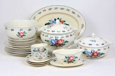 Villeroy & Boch dinner service hand-painted