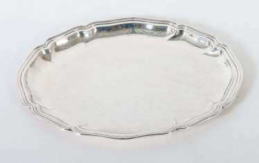 Oval tray in the Baroque style, Wilkens & Söhne
