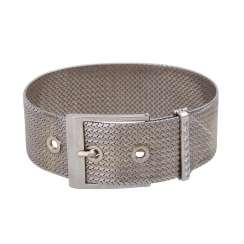 Bracelet in the form of a belt with buckle,