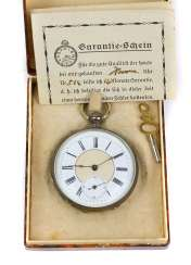 Key pocket watch circa 1890
