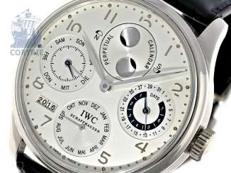 Watch: exquisite, 250 piece limited-edition IWC Schaffhausen Portuguese