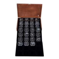 The first glass coins of the world - Exclusive collection