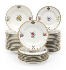 A Large Set of Plates from the St Andrew Service