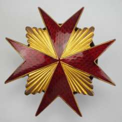 Russia: Badge of His Majesty's Imperial Guard Cossack Regiment.