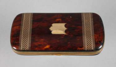 Fine Eyeglass Case Tortoise Shell