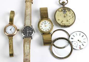 Item wristwatches and pocket watches