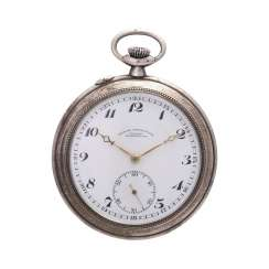 DUF German precision watch Glashütte pocket watch, around 1900/10.