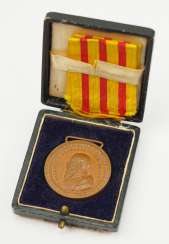 Baden: medal for laborers, and male servants, in a case.