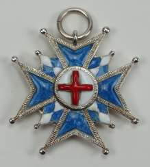 Bavaria: House Knights Order of St. George, breast star miniature.