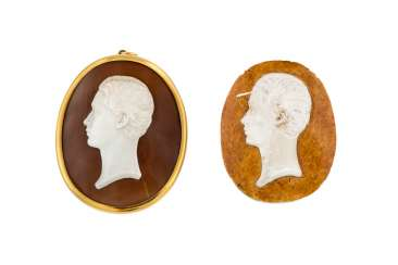 PENDANT WITH PORTRAIT-CAMEO