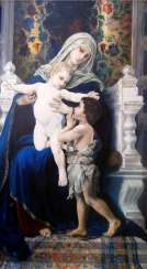 The virgin with the infant Christ and St. John The Baptist