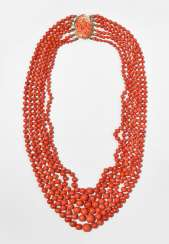 Precious Coral Necklace