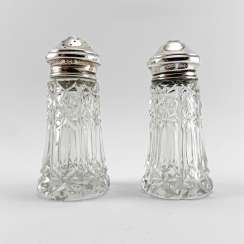 "Set for spices ""FH Adams & Holman"". England, handmade, silver, 1948"
