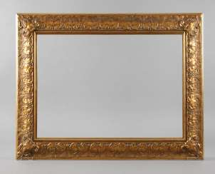 Gold Stucco Frame End 20. Century