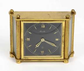 Mauthe table clock with 8-day movement