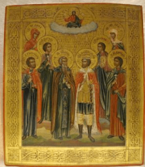 Selected saints 19th century
