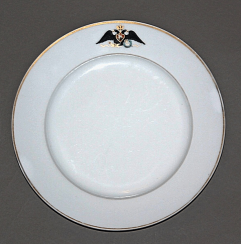 A plate of Ordinary service