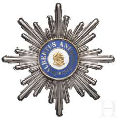Albrecht order, a breast star to the Grand cross 1. Model