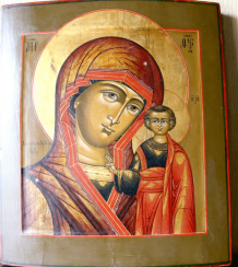 Holy mother of God of Kazan, 19th century