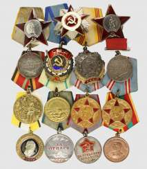 Collection Of Orders, Medals,