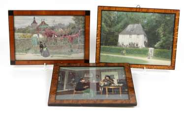 3 pictures frame around 1880/90