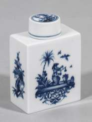 Tea caddy with Chinoiserien