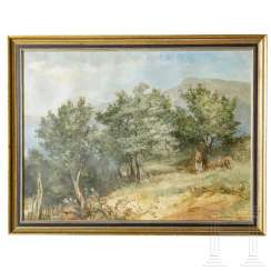 "Painting ""Olive Grove"" by Irmgart Wessel-Zumloh"