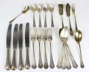 Table cutlery for 4 people, silver