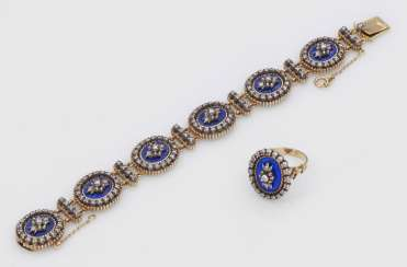 Belle Epoque bracelet with matching Ring