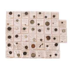 India - bundle of Indian coins,