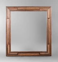 Large frame with accentuated corners, the end of the 19th century. Century.