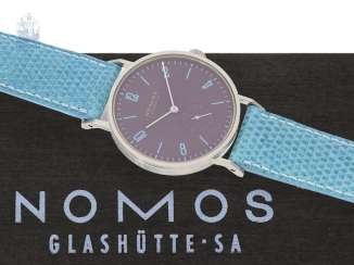 Watch: unworn men's watch/ladies watch, Nomos Glashütte