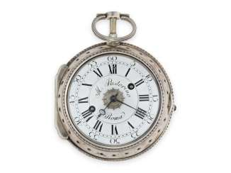 Pocket watch/Karossenuhr: extremely rare Italian Karossenuhr with Repetition and alarm, Mauro Pastorino Roma, CA. 1780