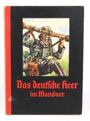 Cigarette album * The German Army in Maneuvers *