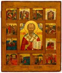 HL. NICHOLAS WITH SCENES FROM HIS LIFE