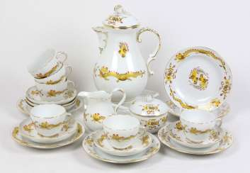 Meissen Coffee Service *Yellow Dragon*
