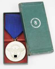 Police-Long Service Decoration, 3. Level, for 8 years.