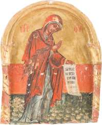 ICON OF THE MOTHER OF GOD FROM A DEESIS