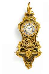 Large pendulum clock on console Louis XV