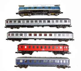 Express Train N Gauge