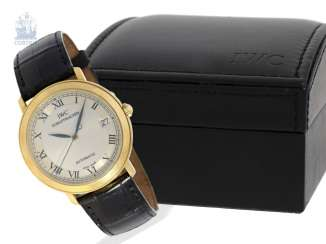 Watch: elegant, very fine men's watch, IWC Portofino
