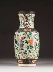 VASE WITH PHOENIX DECORATION