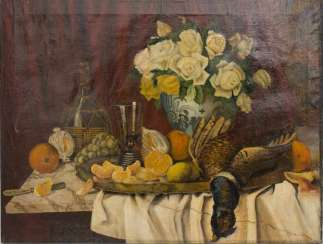AMANDUS FAURE (ATTRIBUTED): STILL LIFE WITH PHEASANT