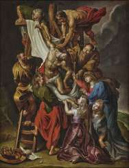 Descent from the cross. after Rubens, Peter Paul