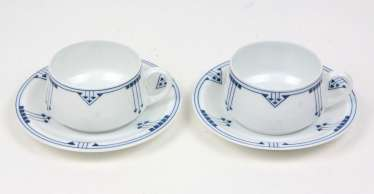 2 Art Nouveau Place Settings *Thomas*