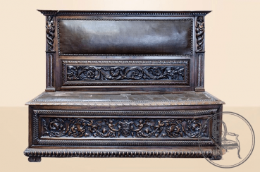 Antique bench of the XIX century