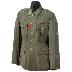 Field blouse M 40 for a top of the tank corporal grenadiers