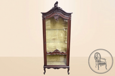 Antique showcase of the XIX century