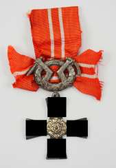 Finland: order of the freedom cross, 1941, 4. Class with swords.