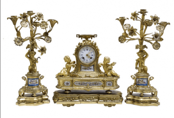 Fireplace set France of the NINETEENTH century